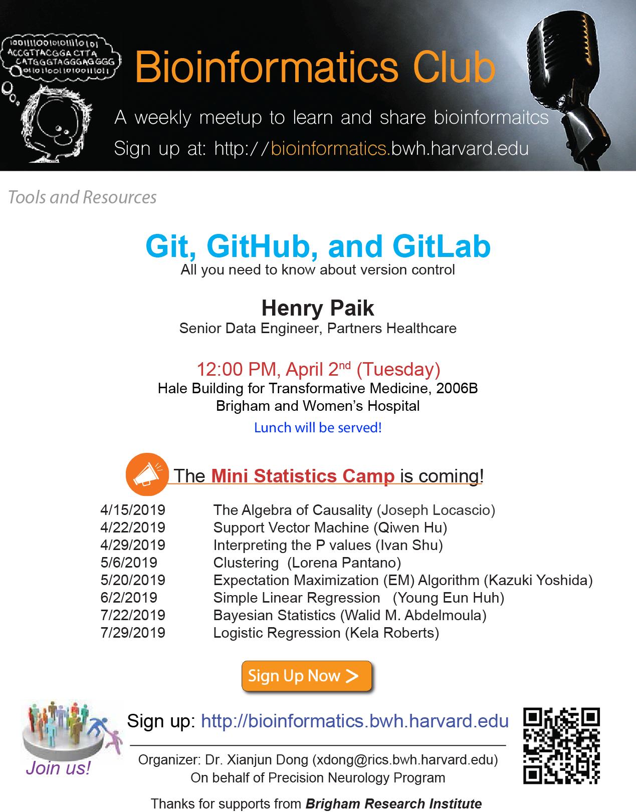 Past Talks – Bioinformatics Club