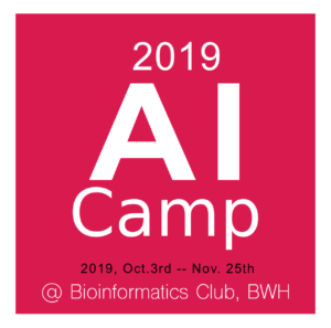 2019 AI Camp at BWH